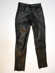 Kožené kalhoty LINUS vel. 33 - obvod pasu: 82 cm
