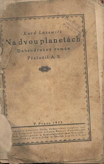 Na dvou planetách - Lasswitz - Knihy