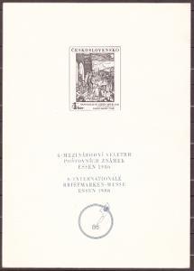 POF. PT 16 - ČERNOTISK VELETRH ESSEN 1986 (T3206)
