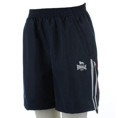 Pánské tmavě modré šortky LONSDALE b2bf832eb4