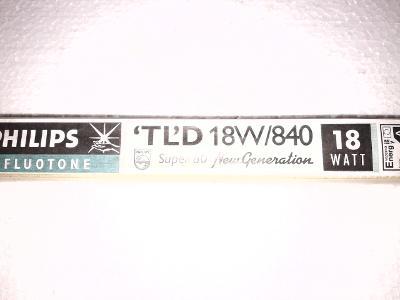 Zářivková trubice PHILIPS   TLD 18W/840
