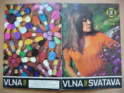 Starý katalog - VLNA SVATAVA - 1971/1973 se vzorky