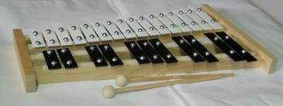 xylofon-zvonkohra 2 oktávy laděná evr.produkce - skvělý zvuk