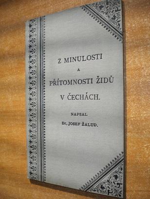 Žalud - Z minulosti a přítomnosti židů v Čechách