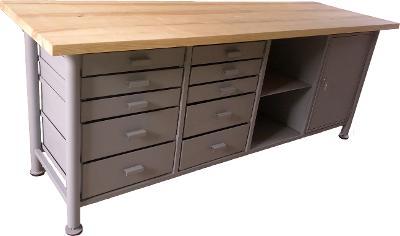 pracovní, dílenský stůl, ponk, model SAFE LONG