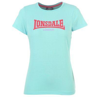 Dámské světle modré tričko Lonsdale, velikost  XL