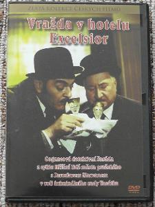 DVD-Vražda v hotelu Excelsior