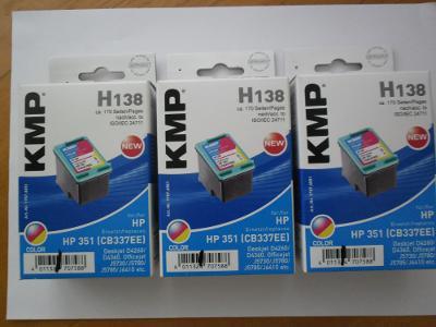 Ink. cartridge HP 351, výrobce KMP,  p.c. 484,-Kč
