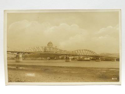 PARKAN, okr. Nové Zámky - most 1935