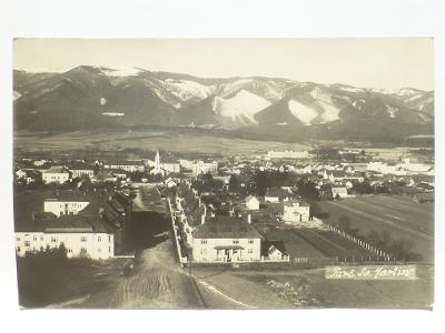 Martin - Turč. Sv. Martin - foto J. Vyvozil 1933