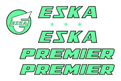 Rámové polepy na jízdní kolo Eska Premier