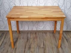 Jídelní stůl, dřevo masiv (15437A)