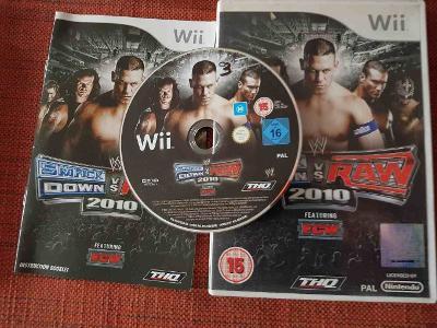 Wrestling : SmackDown vs Raw 2010 (Wii)