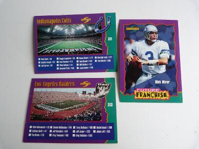 KARTY 3 ks SPORTOVNÍ RUGBY SCORE 1994 AMERICKÝ FOTBAL (311, 313,329)