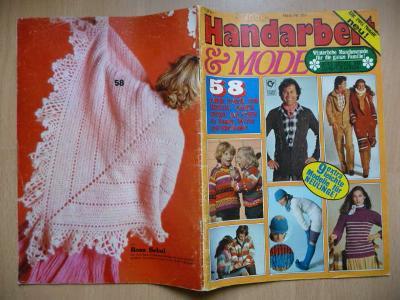 Německý časopis - Handarbeit & MODE - Nr.857