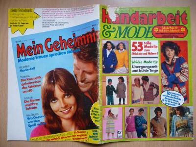 Německý časopis - Handarbeit & MODE - Nr.868