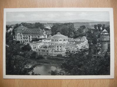 Kúpele PIEŠŤANY - Pohled z Radiumového vrchu