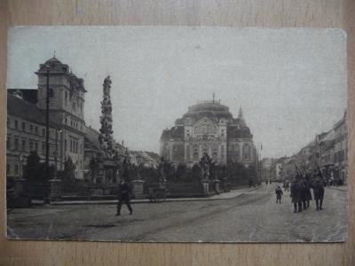 KOŠICE - Hlavná ulica s divadlom - 1926