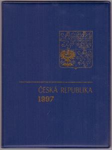 KOMPLETNÍ ROČNÍKOVÉ ALBUM 1997 - ZN., A + ČERNOTISK PTR 5 (T3536)