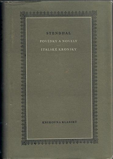 Povídky a novel Italské kroniky - Stendhal