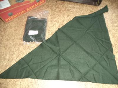 AKCE nový šátek ačr olivový armádní originál trojcípý rouška
