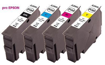 Náplně pro Epson 29XL sada 4ks (T2996) komp.