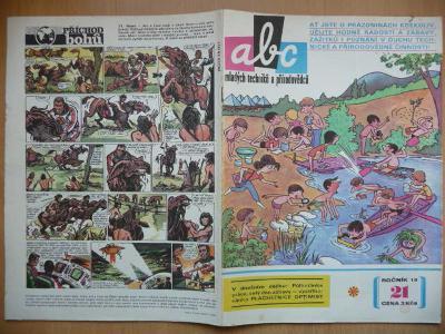 Časopis - ABC - ročník 19. - číslo 21. z roku 1975