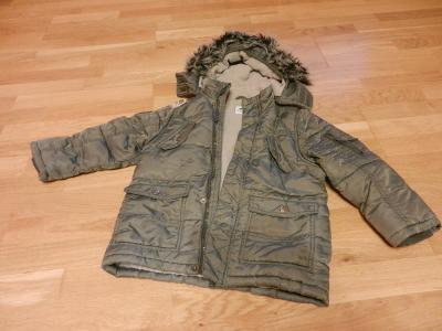Dětská zimní bunda vel. 116