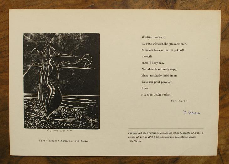 Istler 1945 - Obrtel 1986 - (G673) - Umění