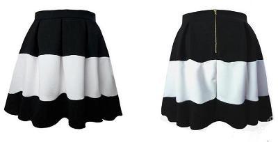 Překrásná sukně, pas 74 cm