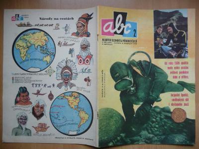 Časopis - ABC - ročník 15. - číslo 2. z roku 1970