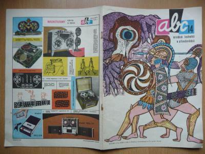 Časopis - ABC - ročník 15. - číslo 14. z roku 1971
