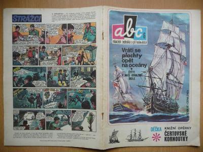 Časopis - ABC - ročník 17. - číslo 6. z roku 1972