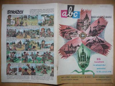 Časopis - ABC - ročník 17. - číslo 17. z roku 1973