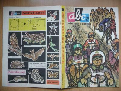 Časopis - ABC - ročník 14. - číslo 22. z roku 1970