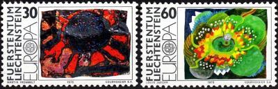 Lichtenštejnsko 1975 Evropa CEPT Mi# 623-24 0008