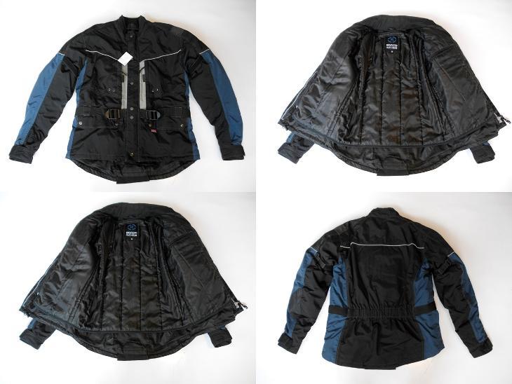 Textilní bunda REWARD vel. M - chrániče  - Náhradní díly a příslušenství pro motocykly