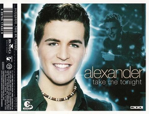 Alexander - Take Me Tonight - Hudba