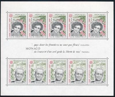 Monako 1980 Evropa CEPT Mi# Block 16 0024