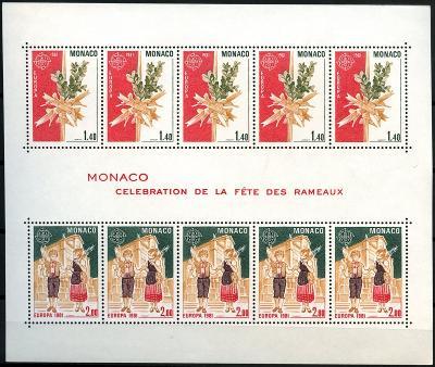 Monako 1981 Evropa CEPT Mi# Block 17 0029