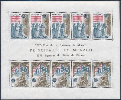 Monako 1982 Evropa CEPT Mi# Block 19 0030