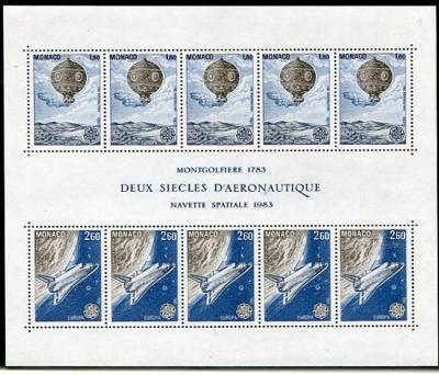 Monako 1983 Evropa CEPT Mi# Block 23  0033