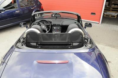 Oblouky za sedadla + větrná clona BMW Z3 Roadster