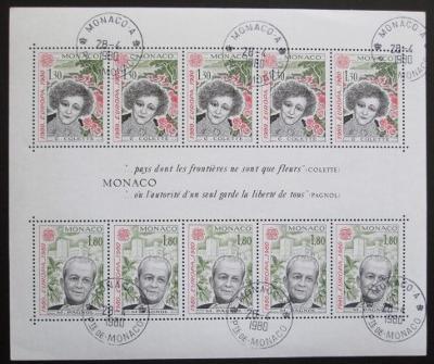 Monako 1980 Evropa CEPT Mi#  Block 16 0045