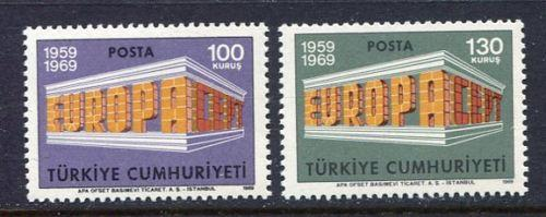Turecko 1969 Evropa CEPT Mi# 2124-25 0055