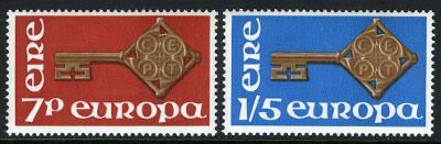 Irsko 1968 Evropa CEPT Mi# 202-03 0056