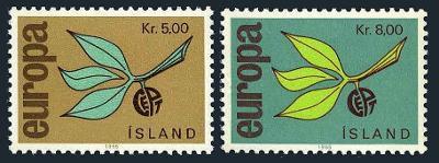Island 1965 Evropa CEPT Mi# 395-96 0057