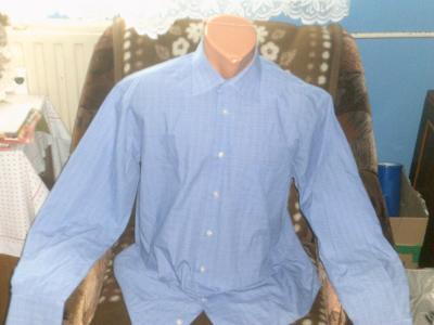 pěkná modrá košile D§H vel.L/XL s kapsou