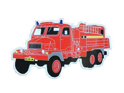 Magnet hasiči - PRAGA V3S