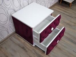Noční stolek, kontejner se šuplíky (15619B)